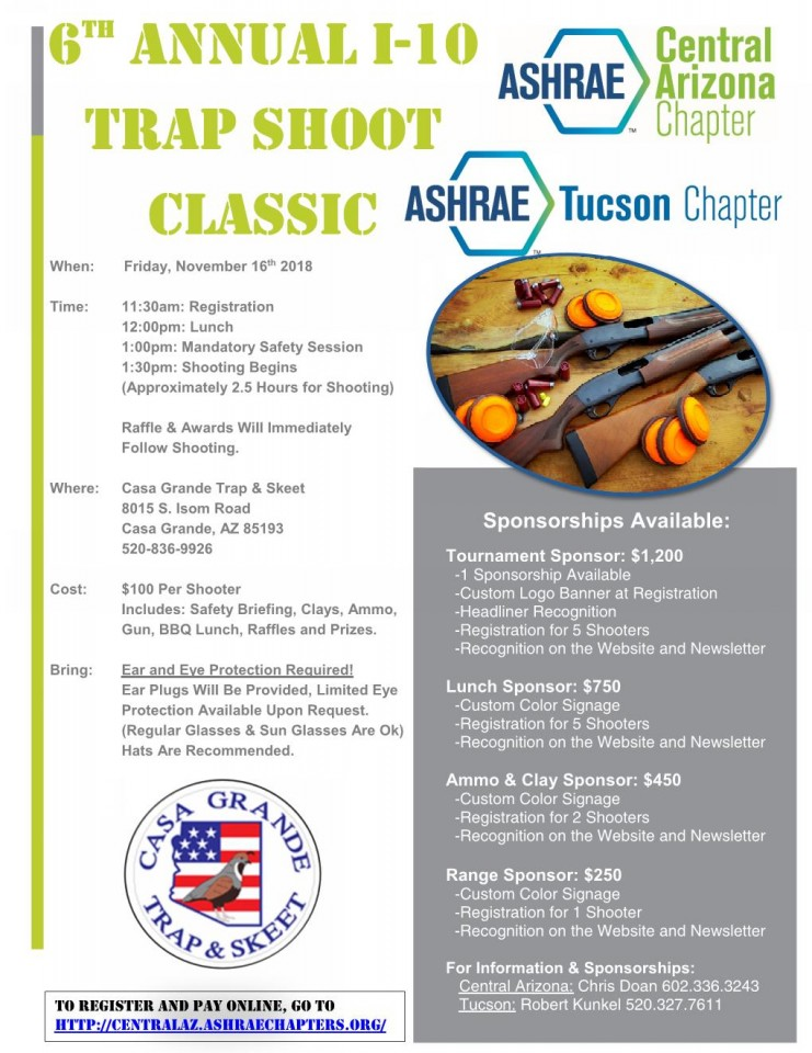 Trap Shoot - 6th Annual @ Casa Grande Trap & Skeet | Casa Grande | Arizona | United States